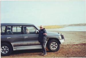 Степные озёра к северу от Алма-Аты. Steppe lakes to the north of Almaty.