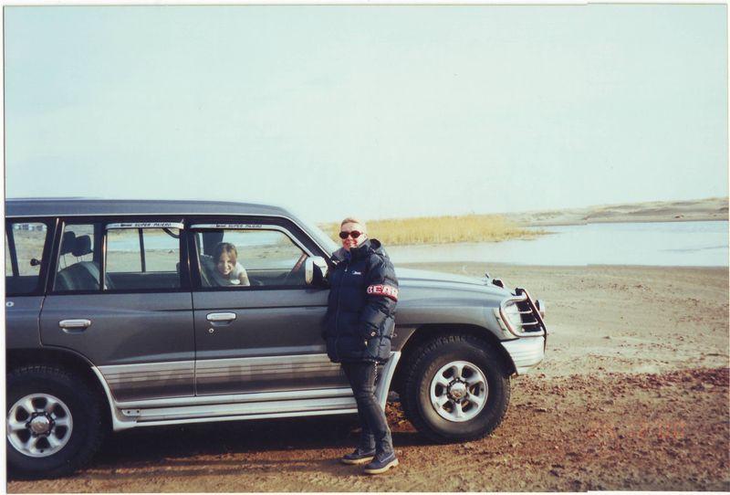 Степные озёра к северу от Алма-Аты.Steppe lakes to the north of Alma-Ata.