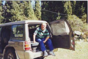 Стоянка в горах. Ущелье Тургень. Parking in the mountains. Turgen gorge.
