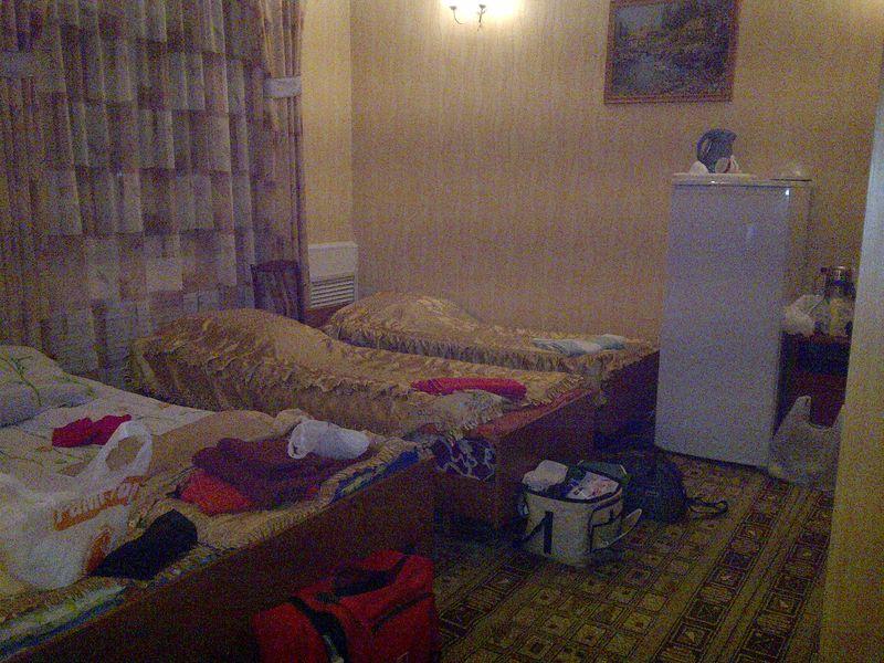 Гостиница в городе Тулун. Hotel in the city of Tulun.