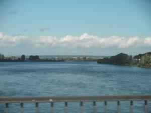 Сибирь. Река Кан в городе Канск. Siberia. River Kan in the city of Kansk.