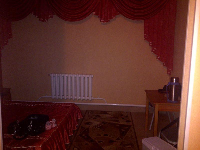 Гостиница в Мариинске. Hotel in Mariinsk.