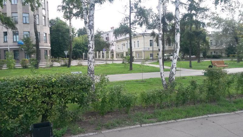 Автопутешествие на Дальний Восток. Иркутск, центр города. Autotravel to the Far East. Irkutsk, the city center.
