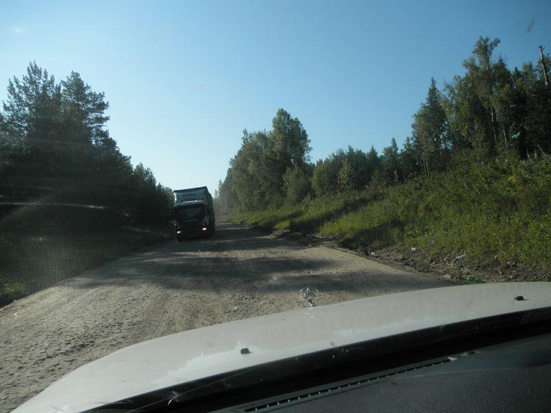 Россия. Дорога Тайшет - Нижнеудинск.