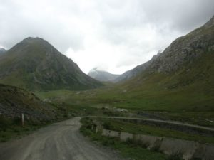 Киргизия. Ущелье Тургень-Аксу. Kyrgyzstan. Turgen-Aksu gorge.
