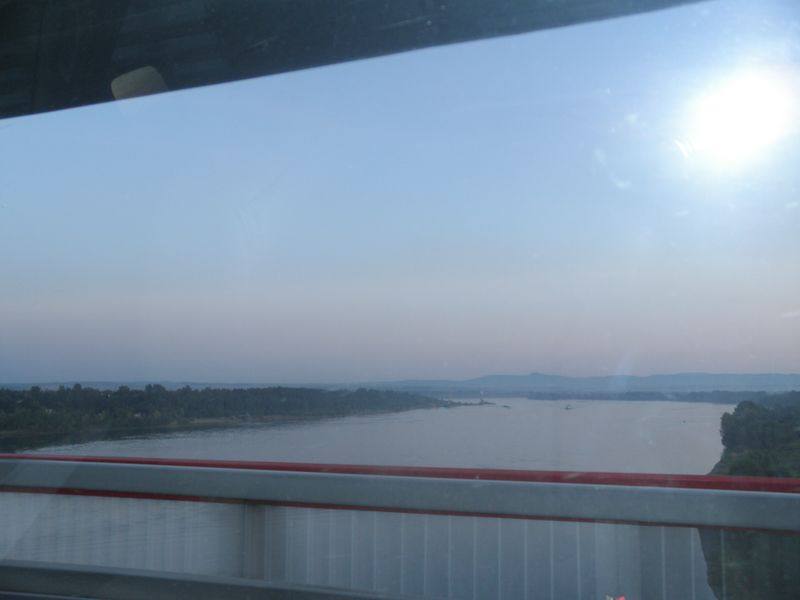 Россия. Река Енисей около Красноярска. Russia. The Yenisei River near Krasnoyarsk.