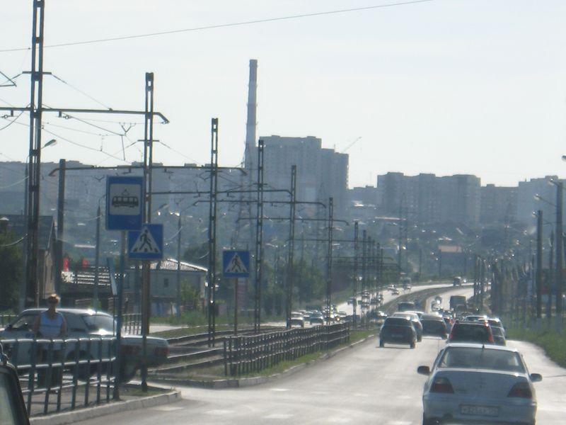 Россия. Город Магнитогорск.