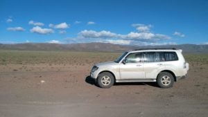 Монголия. Дорога от Улгия к озеру Ачит. Mongolia. The road from Ulgiy to the lake Achit.