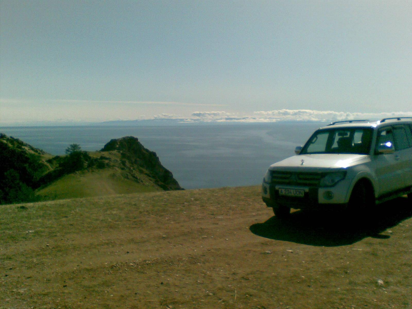 Байкал. Остров Ольхон. Мыс Шунтэ-Левый. Baikal. Olkhon Island. Cape Shunte-Left.
