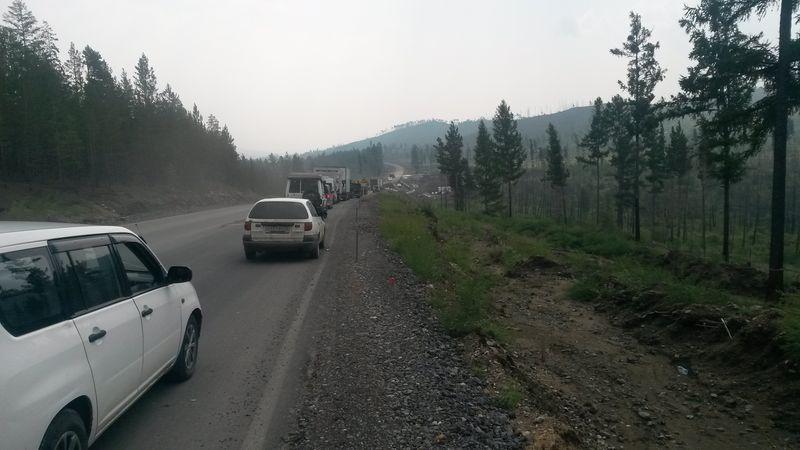 """Трасса """"Байкал"""". Участок дороги Улан-Удэ - Чита. The Baikal highway. A section of road between Ulan-Ude and Chita."""