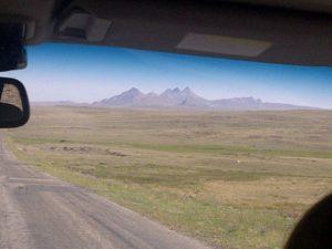 Казахстан. Дорога Алма-Ата - Усть-Каменогорск. Kazakhstan. The road Alma-Ata - Ust-Kamenogorsk.