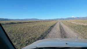 Монголия. Дорога от озера Ачит до Улангома. Mongolia. The road from Lake Achit to Ulangom.