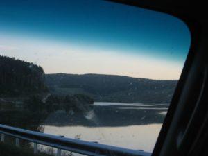 Дорога вдоль реки Белой. Старый Белорецкий тракт. The road along the Belaya River. The old Beloretsk tract.