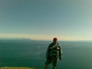 Байкал. Остров Ольхон. Мыс Хобой. Baikal. Olkhon Island. Hoboy Cape.