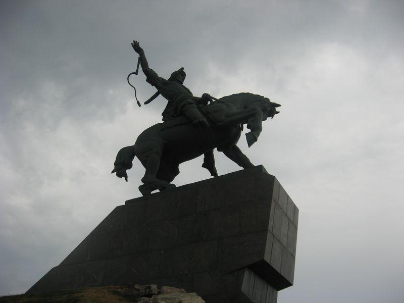 Россия. Уфа. Памятник Салавату Юлаеву. Russia. Ufa. Monument to Salavat Yulaev.