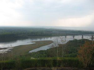 Россия. Уфа. Река Белая. Russia. Ufa. White River.