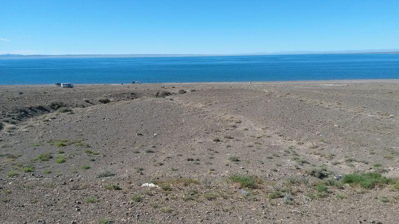Монголия. Озеро Хяргас. Mongolia. Lake Hargas.