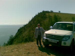 Байкал. Остров Ольхон. Хобой Мыс. Baikal. Olkhon Island. Hoboy Cape.