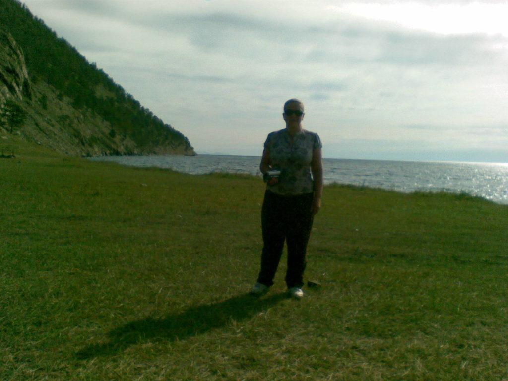 Байкал. Остров Ольхон. Падь Ташкиней. Baikal. Olkhon Island. Gorge Tashkiney.