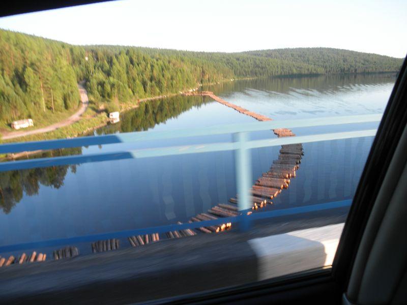 Дорога Братск - Усть-Кут. Река Илим. Road Bratsk - Ust-Kut. The Ilim River.