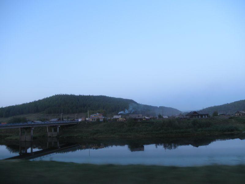 Река Кута. Село Каймоново. The Kuta River. The village of Kaimonovo.