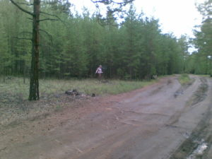Байкал. Остров Ольхон. Дорога в падь Ташкиней. Baikal. Olkhon Island. Road to Tashkiney gorge.