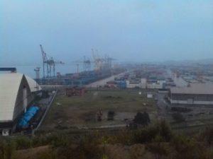 """Находка. Порт """"Восточный"""". The city of Nakhodka. Port of Vostochny."""