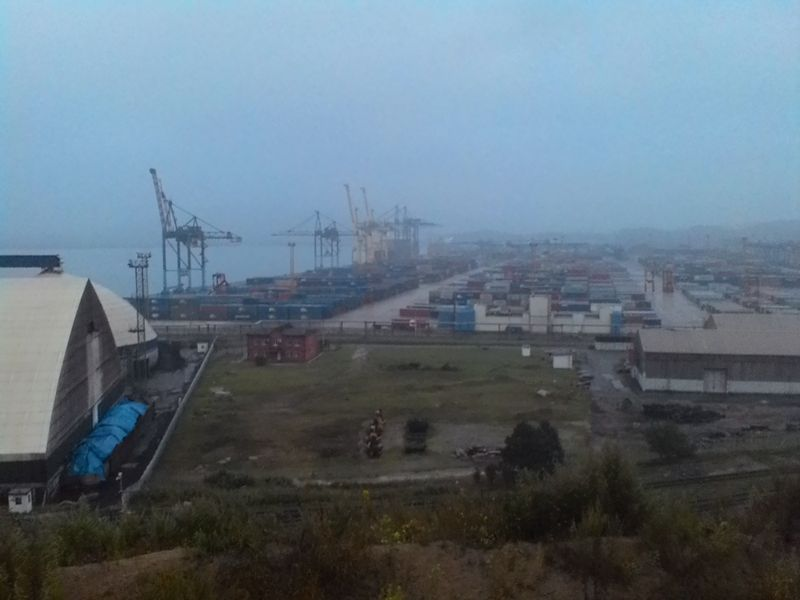 MMC Pajero Находка порт Восточный