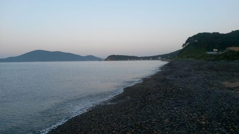 Дальний Восток. Бухта Руднева, мыс Опасный. Far East. Rudneva Bay, Cape the Dangerous.