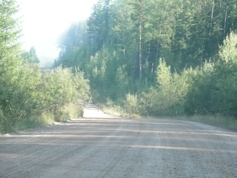 Усть-Кут - Северобайкальск. Дорога вдоль БАМа. Ust-Kut - Severobaikalsk. The road along the BAM.