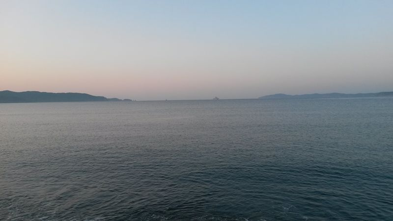 Залив Петра Великого. Бухта Руднева. The Gulf of Peter the Great. The Bay of Rudnev.