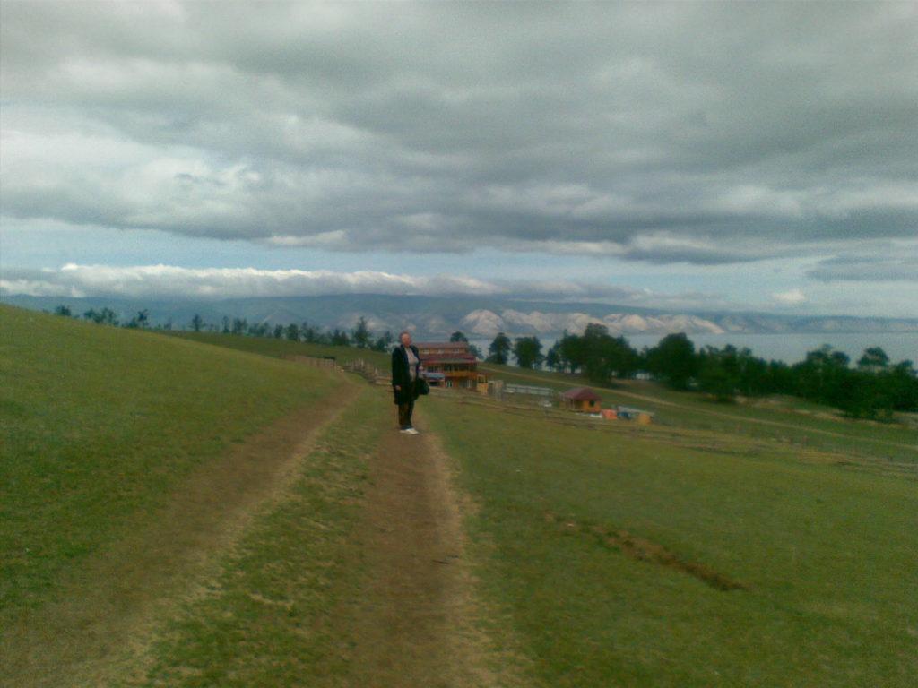Байкал. Остров Ольхон. Посёлок Хужир. Baikal. Olkhon Island. Khuzhir village.