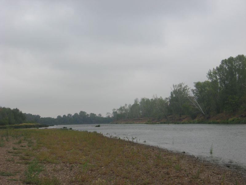 Россия. Башкирия. Река Белая. Russia. Bashkiria. White River.