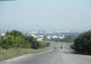 Казахстан. Город Усть-Каменогорск. Kazakhstan. Ust-Kamenogorsk city.