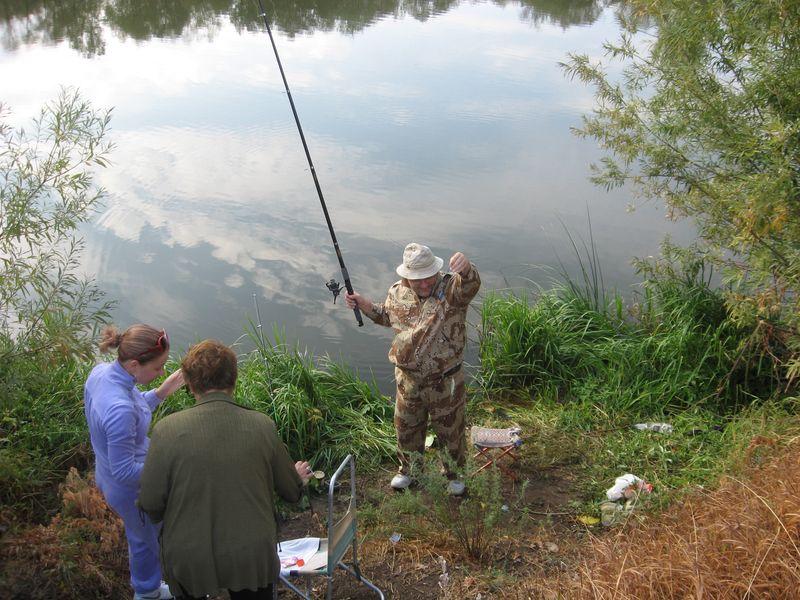Россия. Башкирия. Река Белая. Рыбалка.