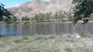 Монголия. Река Дэлгэр мурэн. Mongolia. The Dalgar Muran River.