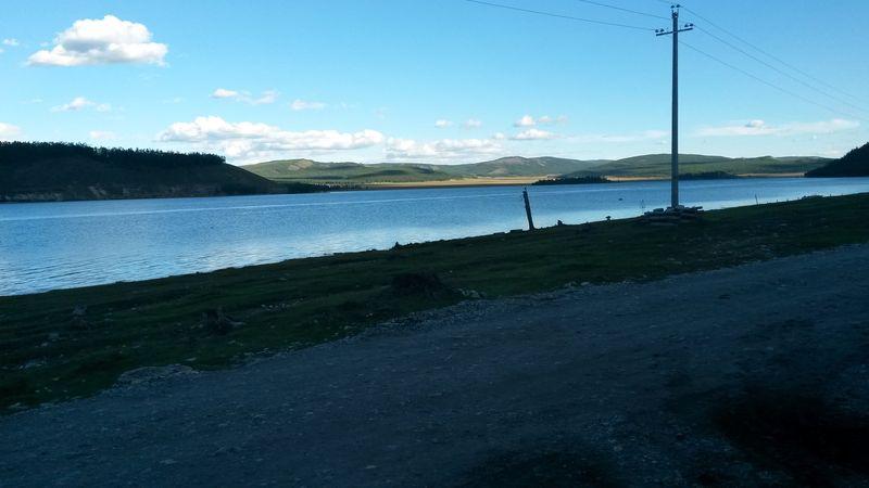 Монголия. Южная часть озера Хубсугул.