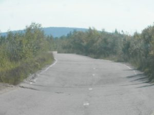 Дорога на Северобайкальск. The road to Severobaikalsk.