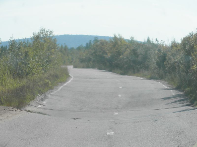 Дорога на Северобайкальск. The road to Severobaikalsk.