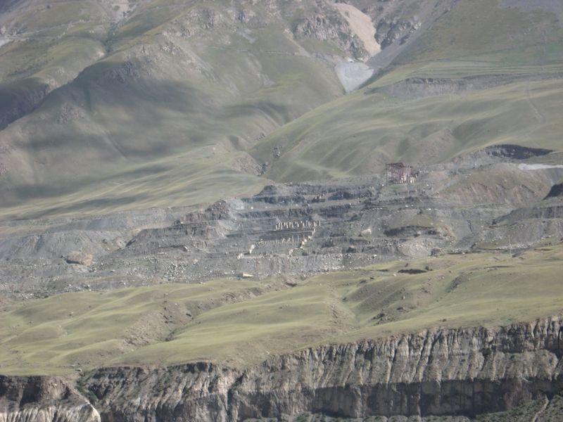 Киргизия. Город - призрак Иныльчек. Kyrgyzstan. The ghost town of Inylchek.