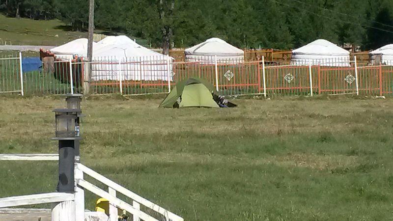 """Озеро Хубсугул. """"Дикий"""" отдых в палатках."""