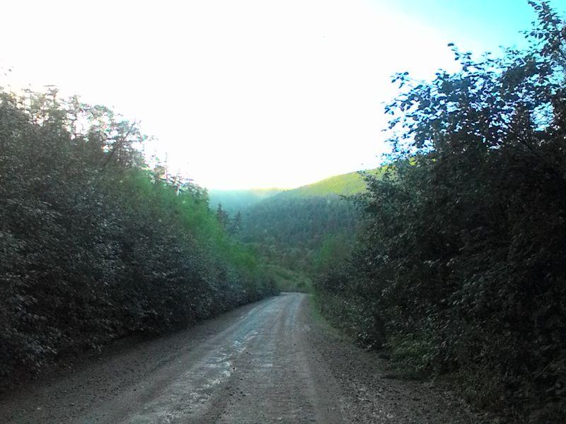 Хабаровский край. Дорога Де-Кастри - Лазарев. Khabarovsk region. The road De-Kastri - Lazarev.