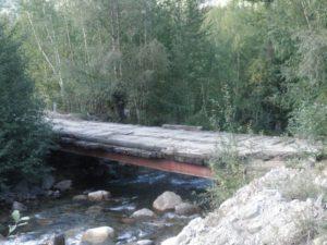 Дорога на перевал Дабан. The road to the pass Daban.