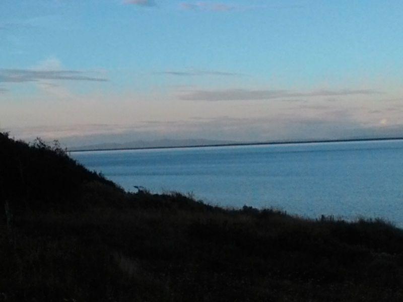 """Посёлок Лазарев. Пролив Невельского. Остров Сахалин. The village """"Lazarev"""". Strait of Nevelskoy. Sakhalin island."""