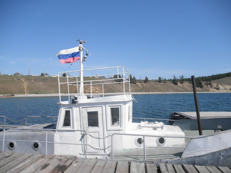 Северный Байкал. Село Байкальское. Northern Baikal. The village Baykal'skoye.