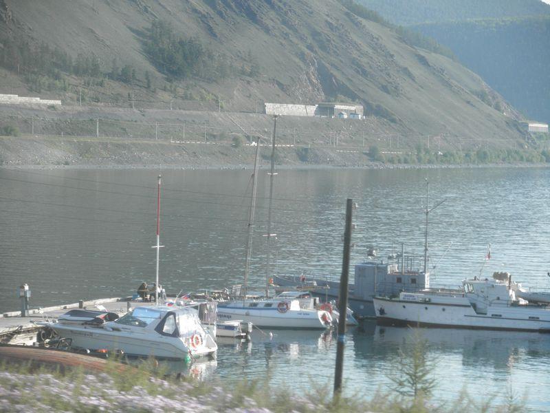 Северный Байкал. Северобайкальск. Причал. Northern Baikal. Severobaikalsk. Berth.