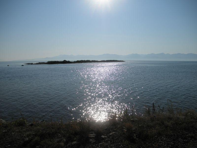 Северный Байкал. Остров Ярки. Northern Baikal. The island of Yarki.