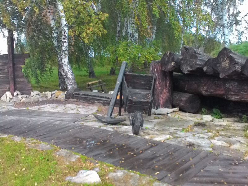 "Мариинск. Мемориал жертвам Сиблага. ""Холм памяти"". Mariinsk. Memorial to the victims of Siblag. ""Hill of Memory."""