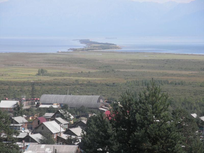 Нижнеангарск. Остров Ярки. Nizhneangarsk. The island of Yarki.
