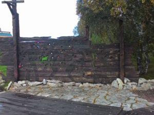 "Мариинск. Мемориал жертвам Сиблага. ""Расстрельная стена"". Mariinsk. Memorial to the victims of Siblag. ""The Shooting Wall""."